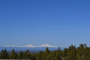 The Sisters Mtn range north of Bend Oregon by seedless61
