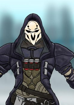 Reaper Overwatch by ZackNoone