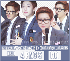 Chanyeol (EXO) - PACK PNG#02 by JeffvinyTwilight