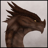 Frilled Dragon by Gul-reth