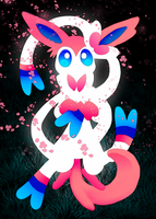Sylveon by AngelBunnyXOXO