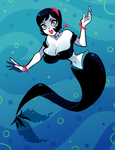 Lucy The Mermaid by ZoeStanleyArts
