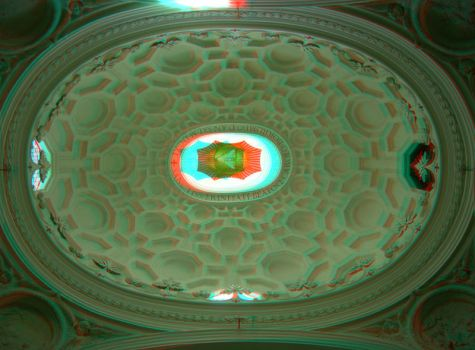 Rome 13 3D Anaglyph by yellowishhaze