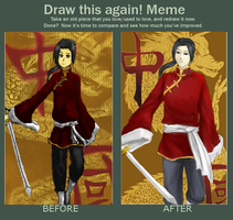 Draw This Again Meme by Usakan