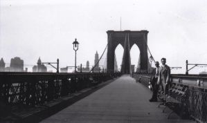 Brooklyn Bridge, 1930 by prestonthecarartist