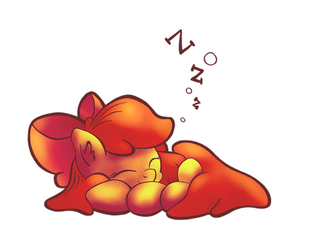 Sleepybloom by xHaZxMaTx