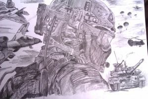 Contest's Theme: Soldier by sperhak618