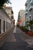 Streets Of Old San Juan by sullivan1985
