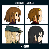 K-On!/Gorillaz by Flare-Chaser
