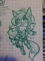 Chibi Anthro Ysabel by SWAG-Daddy
