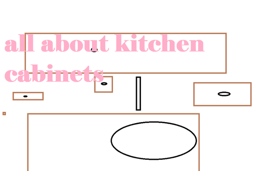All About Kitchen Cabinets by DickButtInk
