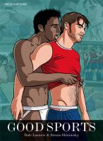 The cover of GOOD SPORTS, a gay erotic comic! by DaleLaz