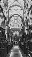 Salisbury Cathedral - Choir and Arches by Okavanga