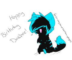 Happy Birthday Dashee by XBlackIce