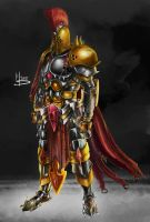 Roman Warrior by Mike-Tortuga