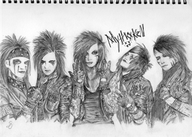 Black Veil Brides by Mythokell
