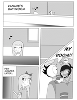 Comic 2 Page 1 - Kanade's Room tour by Endo1357