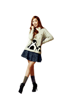 Snsd Jessica for Soup render png by poubery
