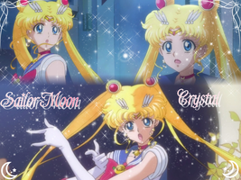 Sailor Moon Crystal Wallpaper by NatouMJSonic