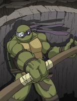 Donatello - En garde by Tigerfog