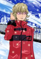 Barnaby in winter by pentium11