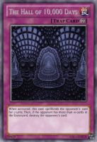 The Hall of 10,000 Days Trap Yu-Gi-Oh Card by dakln