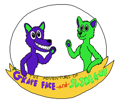 Grape Face and Slime Guy by SkrillexWolf777