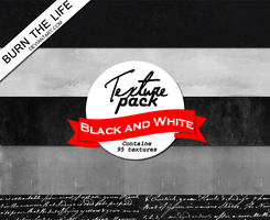Black and White | Texture Pack by Burn-the-life