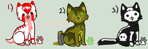 Puppies Adoptable Batch 2# -2 Left- by LuckyCloverAdopts