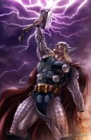The Mighty Thor by VinRoc