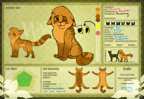 Prowlerfang Official Reference Sheet by MlSTY