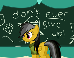 Don't ever give up by DrumblastingQuilava