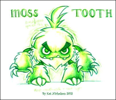DAC Challenge _Moss Tooth by KatCardy