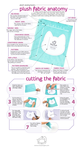 Cutting Plush Fabric Infographic by SewDesuNe