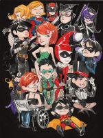 so many girls in gotham by duss005
