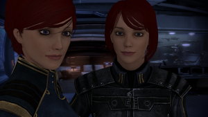 Hannah and Jane Shepard by CaptBuck98