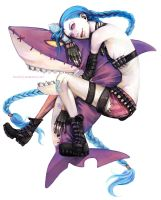 Jinx, the Loose Cannon by kurochii