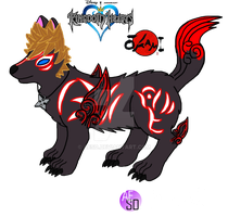 Kingdom Hearts Roxas:~ OKAMI Form by AESD