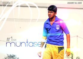Muntaser! Our GoalKeeper! by CompBomb