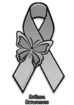 Asthma Awareness Ribbon by AdaleighFaith