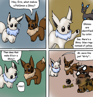 The Eevees 28: What Makes a Shiny? by NoaQep