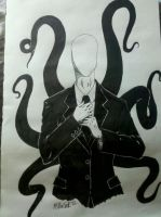 Slenderman by xxmikmaxx