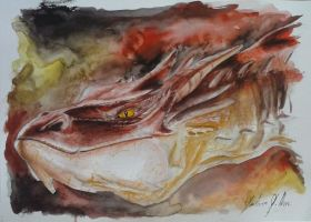 Smaug by Giulianog