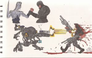 RoboCop2 VS The Terminator2_01_July2012 by AlexBaxtheDarkSide