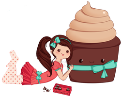 the girl who loved sweets by acquiesce9four