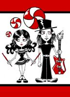 The White Stripes by AuntyRichie
