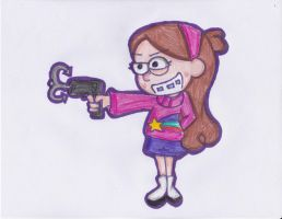 Mabel's got a grappling hook by ImmaRainbowNinja