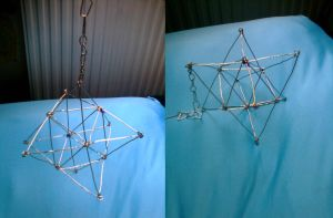 3D star of david by Abstract-scientist