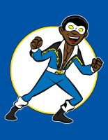 black lightning by AlanSchell