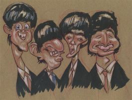 The Beatles by JeffVictor